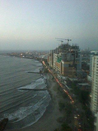 Decameron Cartagena : Vista desde el piso 23