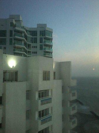 Decameron Cartagena: Vista desde el piso 23