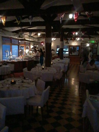 Decameron Cartagena: Restaurante Comida de Mar