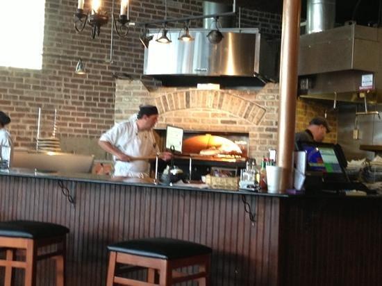 Tony's Brick Oven Pizzeria: brick oven