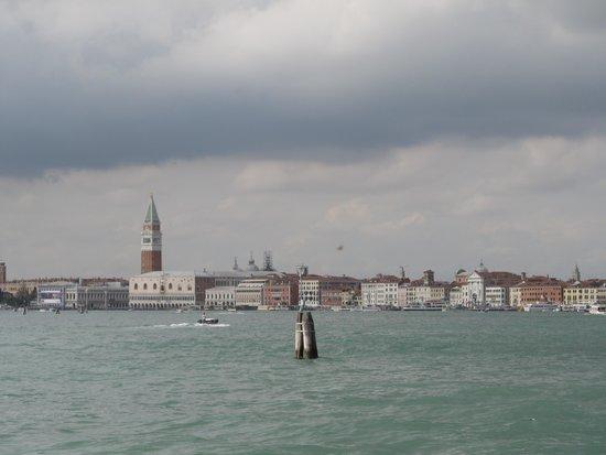 Best Western Premier Hotel Sant'Elena : Venice, seen from Sant; Elena