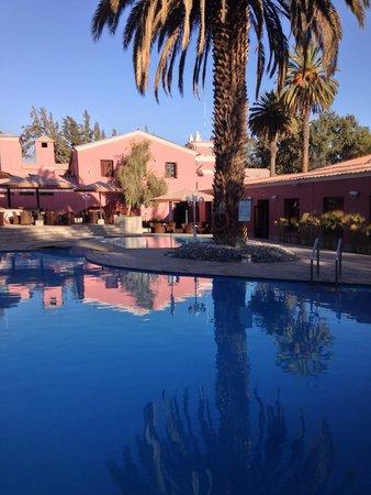 Hotel Libertador Arequipa : Swimming pool area at hotel Libertador.