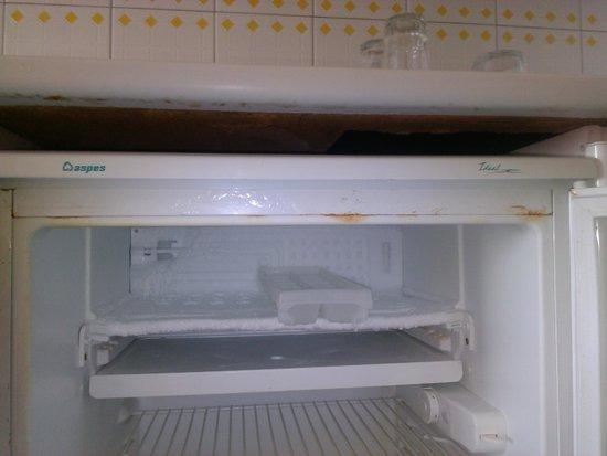BelleVue Aquarius: Rouille dans le frigo