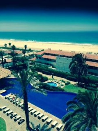 Rosarito Beach Hotel : View from room 610 Pacifico Tower