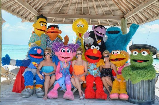 Beaches Turks and Caicos Resort Villages and Spa : Just a bunch of Characters!!