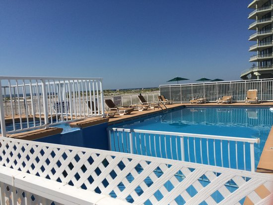 Granada Ocean Resort : It was sad saying goodbye to the amazing pool and hot tub