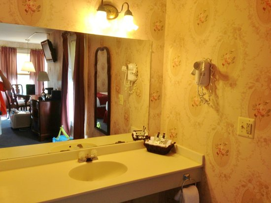 Lake View Hotel: Bathroom sink