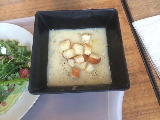 Exploratorium : Seaglass Restaurant - chowder