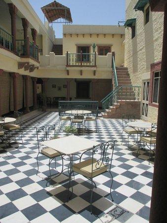 Hotel Ratan Vilas: teras