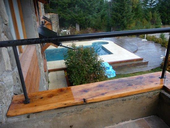 Casa del Bosque Aparts & Suites: terraza