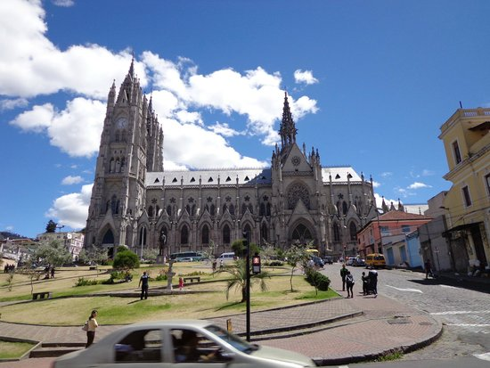 Basílica del Voto Nacional: VISTA EXTERIOR