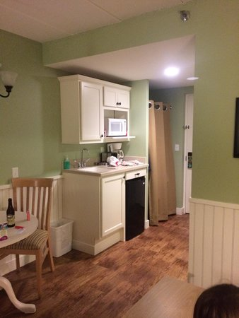 Holly Tree Resort: Studio kitchenette