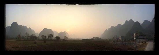 Yangshuo Tea Cozy : Balade en vélo le matin