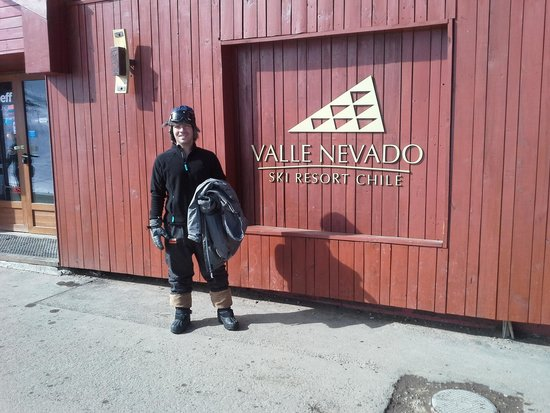Hotel Valle Nevado: Em valle nevado