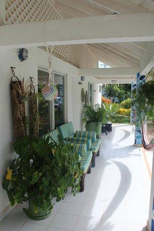 Hosteria Mar y Sol: Varanda da suite