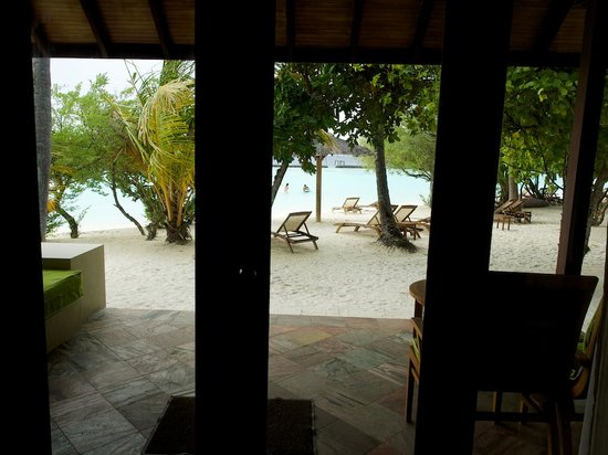Kurumba Maldives: view from our room.