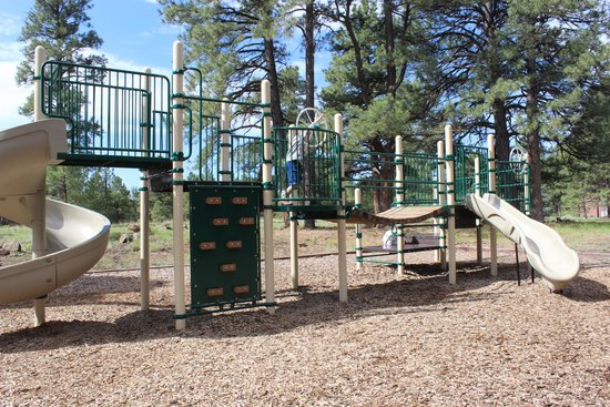 Little America Hotel Flagstaff: Playground at Little America