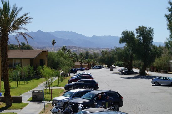 The Oasis at Death Valley: View from room entry (top floor)