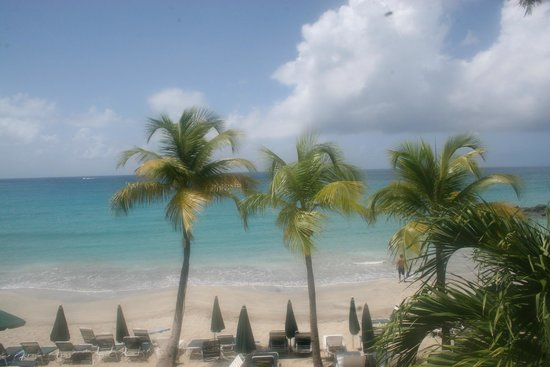 Belair Beach Hotel: View from my balcony