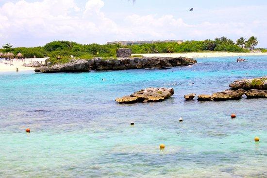 Grand Sirenis Mayan Beach Resort & Spa: Esta es tranuilidad y la noblesa del mar que se encuentra en el grand sirenas
