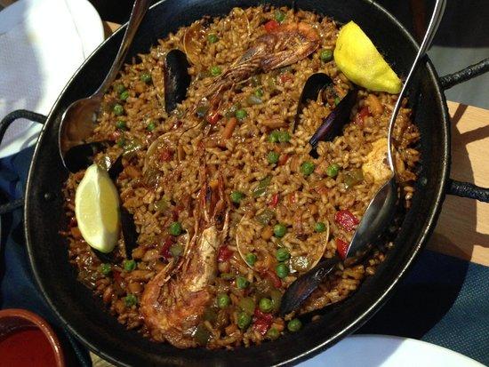 El Choquito : marinara paella