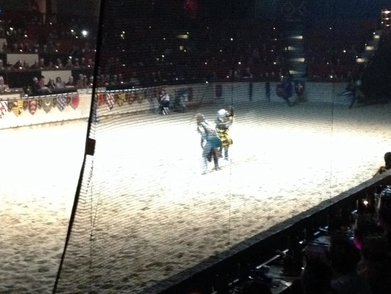 Medieval Times: Sword fighting