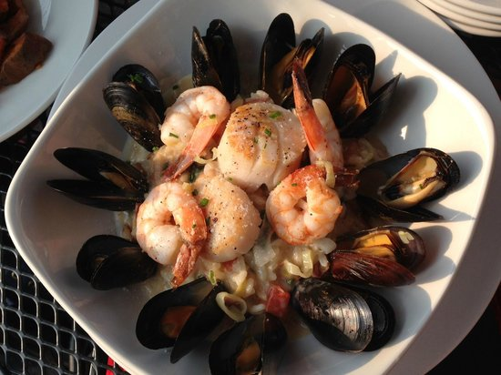 Hale Street Tavern: Seafood Risotto