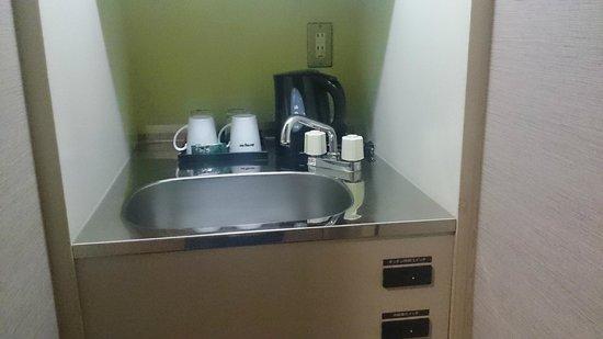 Dormy Inn Hiroshima : 各室にシンクが