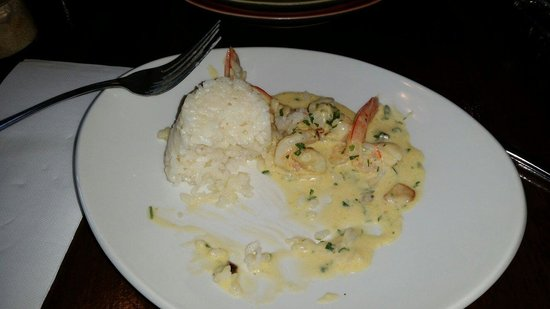 Sabroso tapas and grill: Traditional garlic prawns--delicious