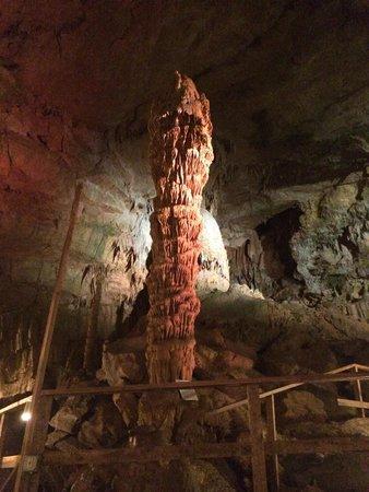 Lost World Caverns: War club