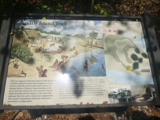 Gulf Coast Visitor Center: Sandfly Island