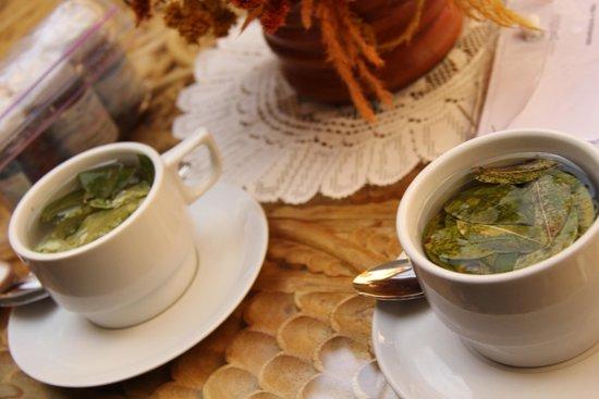 BEST WESTERN Los Andes De America: Mate de coca, cortesía del hotel