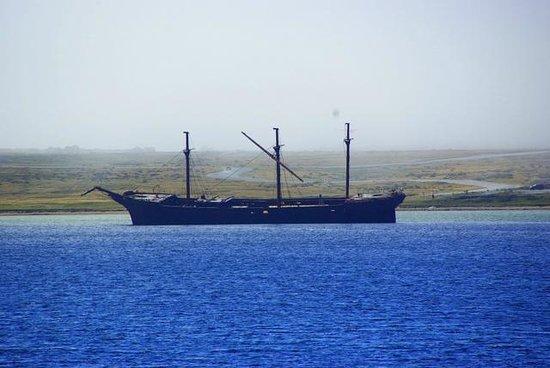 Adventure Falklands : Old school schooner