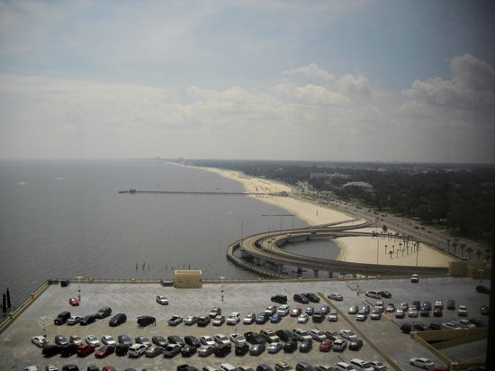 Beau Rivage Resort & Casino Biloxi: Overlooking the Gulf of Mexico from the Beau Rivage