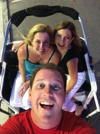 Charleston Rickshaw Company: Selfie