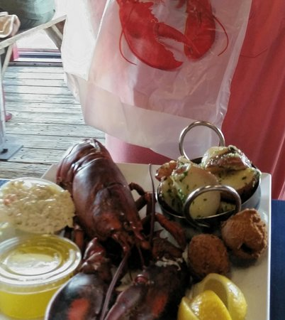 Phillippi Creek Village Restaurant & Oyster Bar : $13.95 lobster dinner
