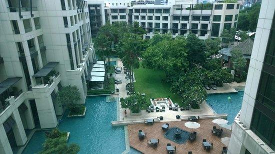 Siam Kempinski Hotel Bangkok : relaxing view