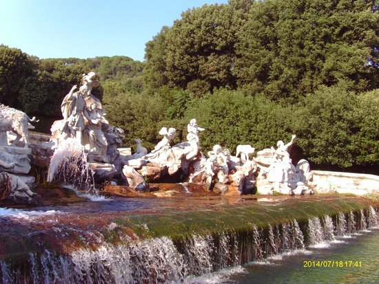 Grand Hotel Vanvitelli: Parco della Regia di caserta