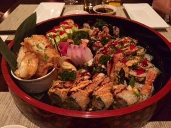Nishi Restaurant: The chefs surprise assortment! Nothing but the best!