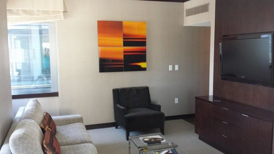 Vdara Hotel & Spa: Living room