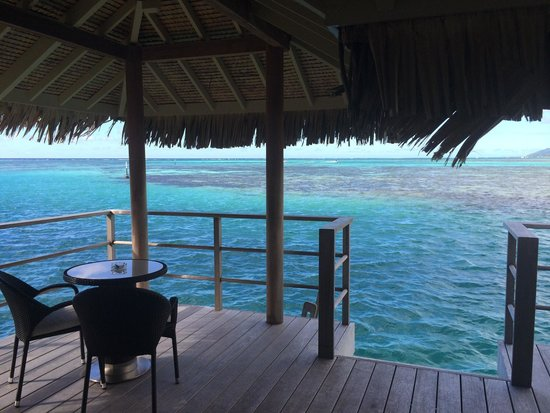 InterContinental Moorea Resort & Spa : View from premium OWB 625