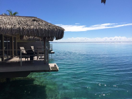 InterContinental Moorea Resort & Spa : View from OWB 625