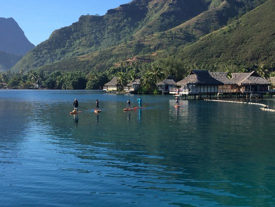 InterContinental Moorea Resort & Spa : View from premium OWB