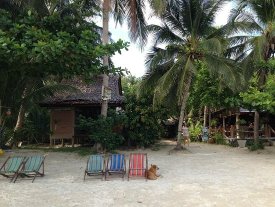 Longtail Beach Resort : resort