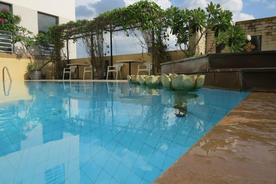 The Royal River Hotel : The pool with a view