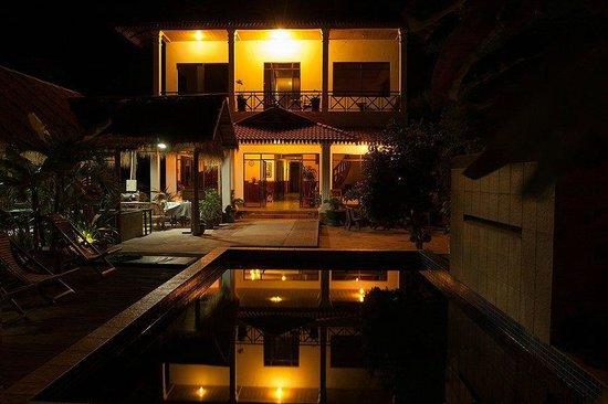 Green Village Angkor Hotel : Green Village by Night