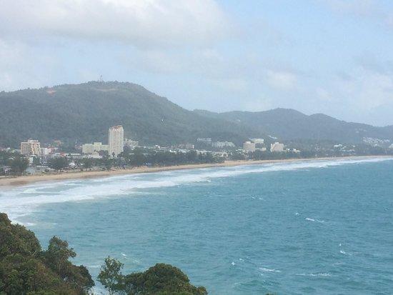 Secret Cliff Resort: View from restaurant