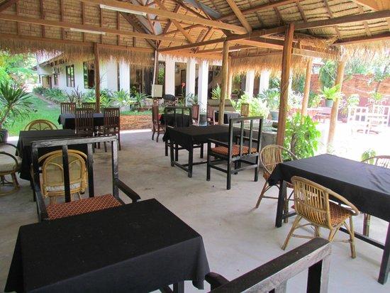 Green Village Angkor Hotel: Restaurant
