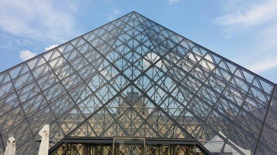 Musee du Louvre: 金字塔与卢浮宫