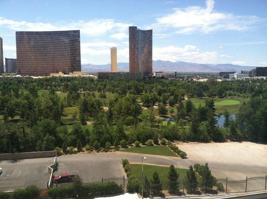 Renaissance Las Vegas Hotel : View from stip-view room 8th floor